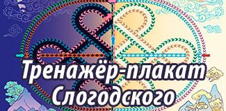 Нейро-графический тренажер-плакат Слогодского